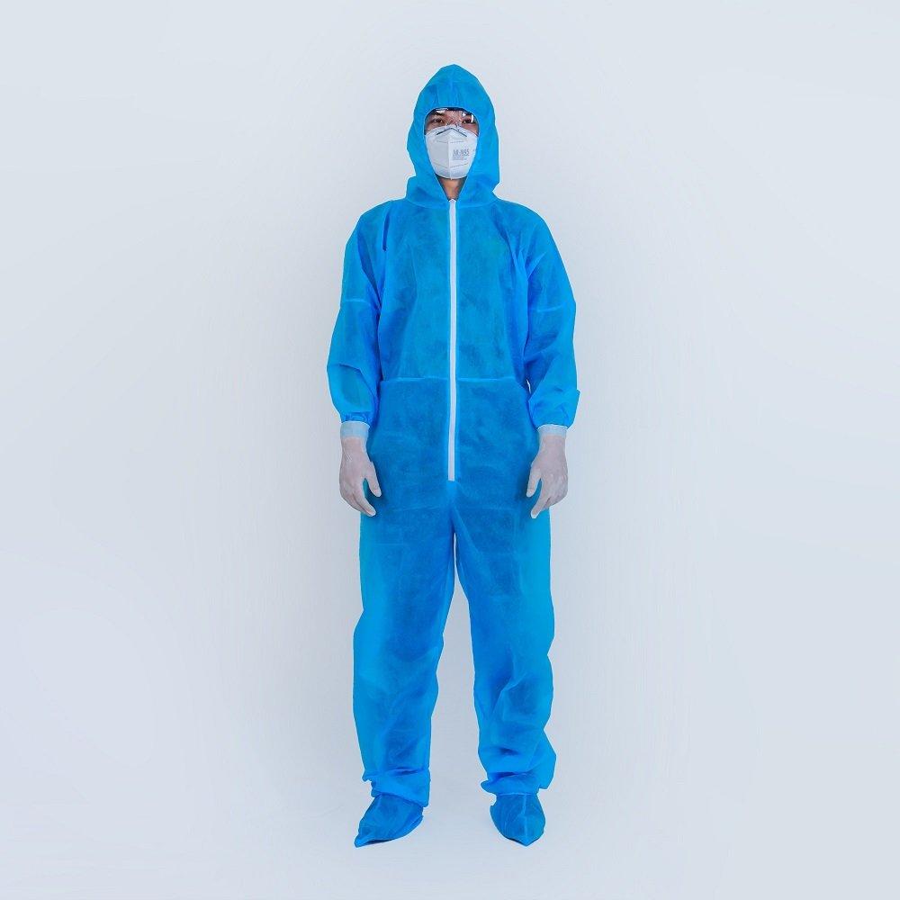 Combo 2 bộ đồ bảo hộ vải kháng khuẩn