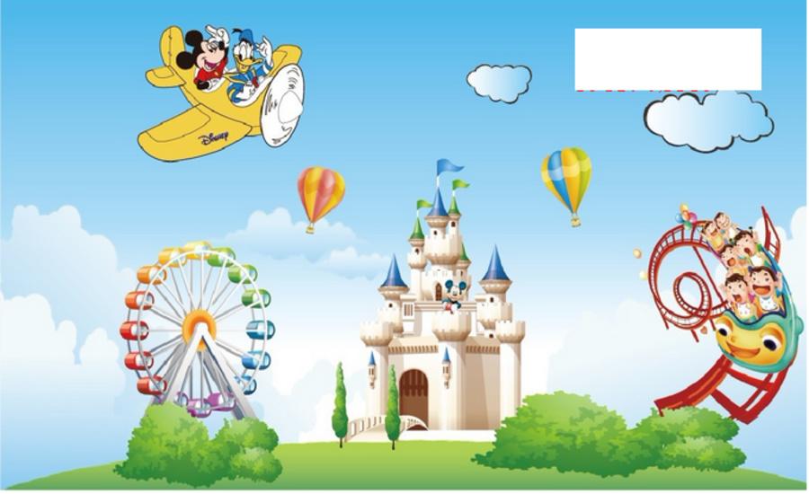 Mickey chơi công viên