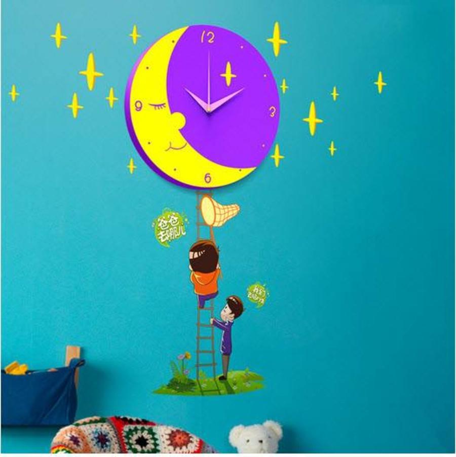 Đồng hồ mặt trăng tím