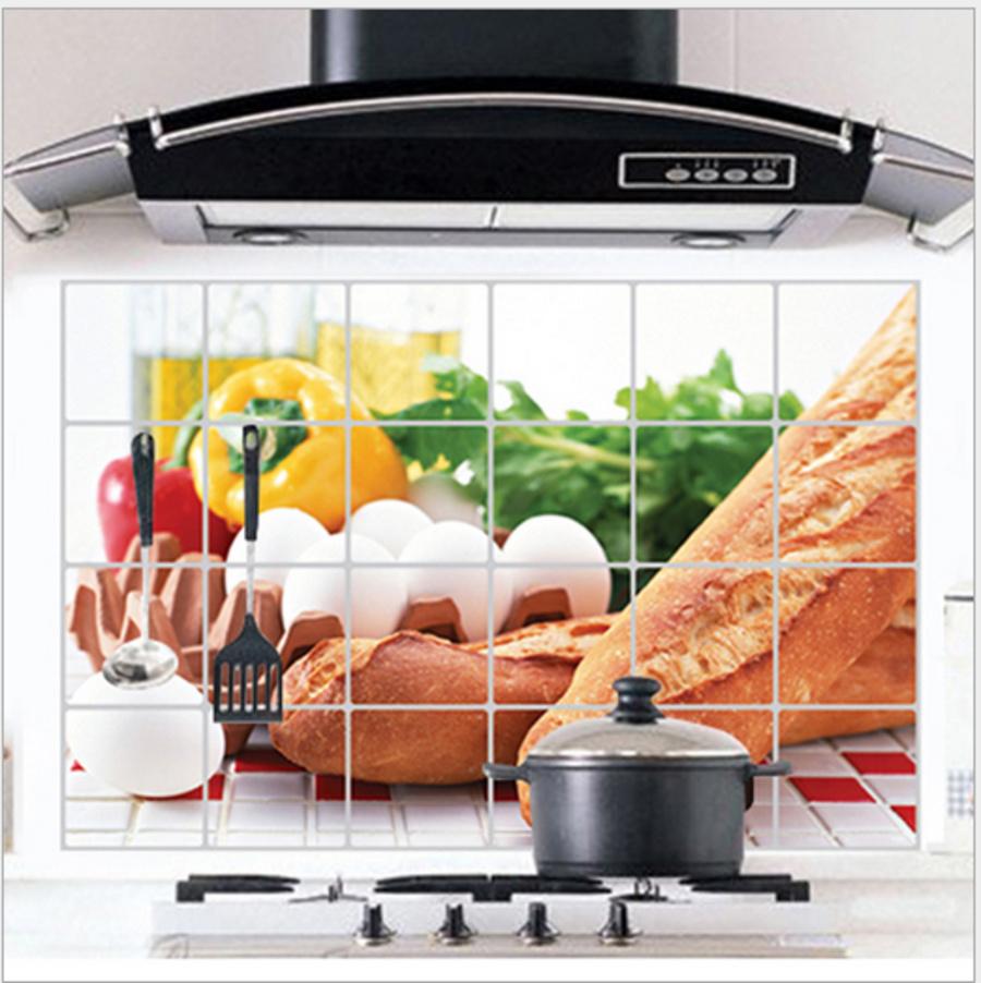 Dán bếp bánh mì dài size 60x90cm