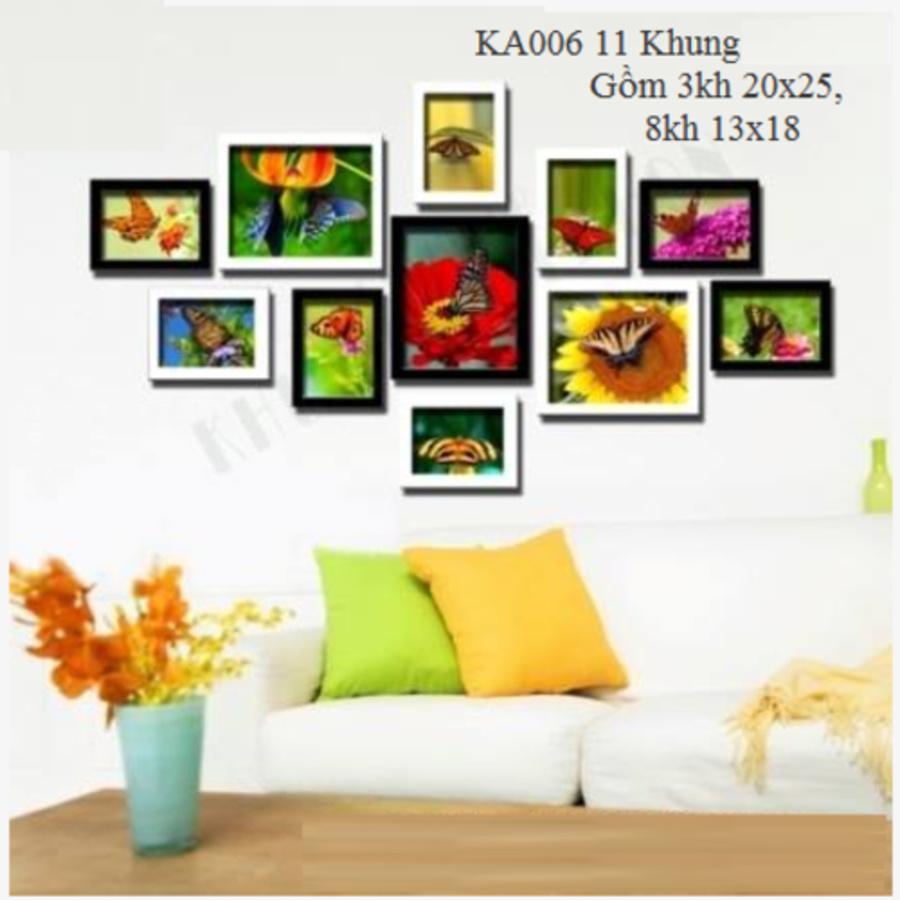 Khung ảnh bộ 11 khung - KA006