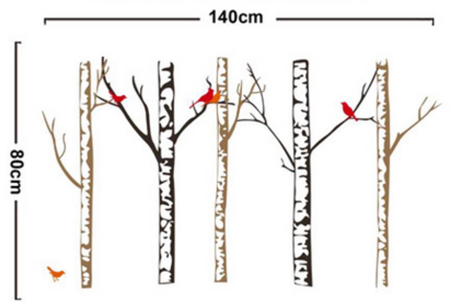Năm cành cây khô