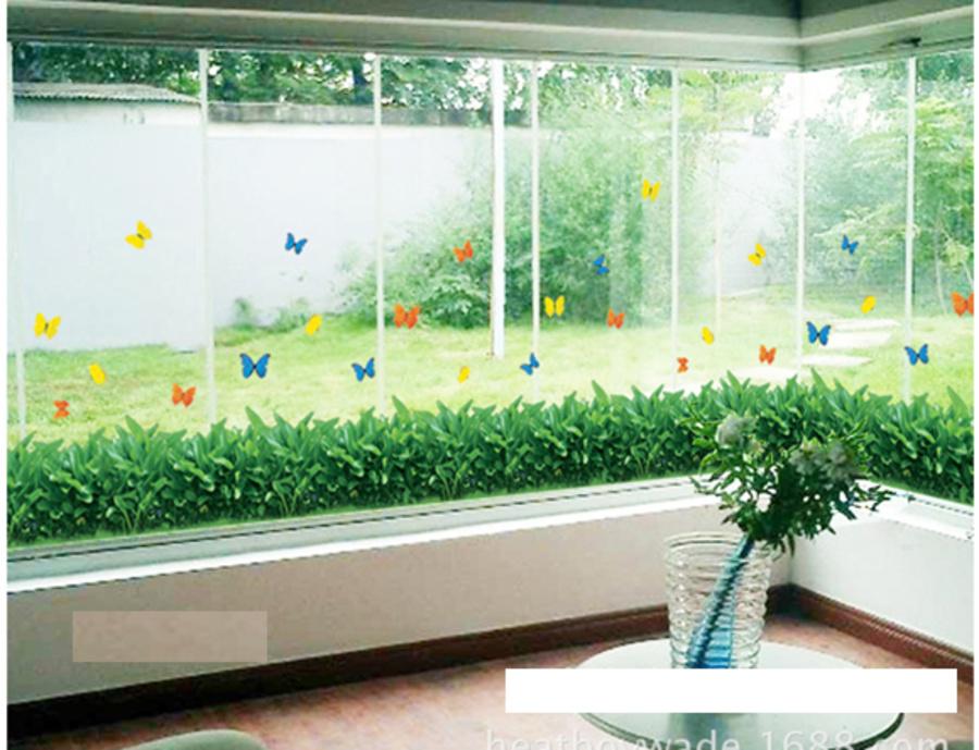 Chân tường cỏ xanh 2