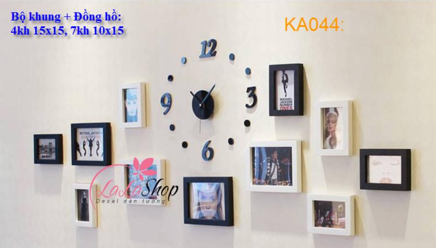 Bộ khung ảnh 11 khung - KA044