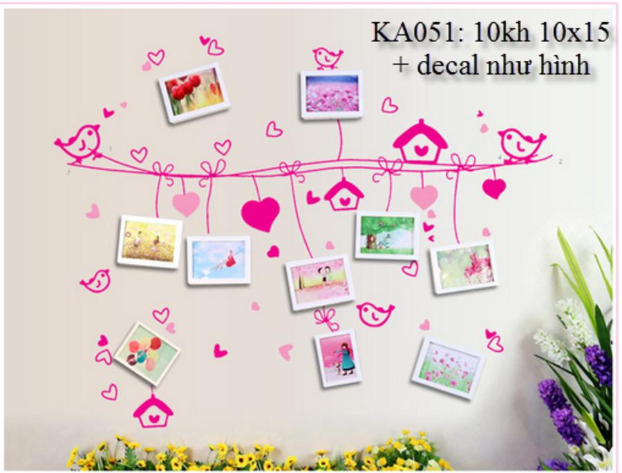 Khung ảnh bộ 10 khung - KA051