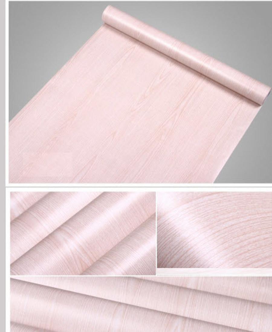 Decal cuộn vân gỗ trắng