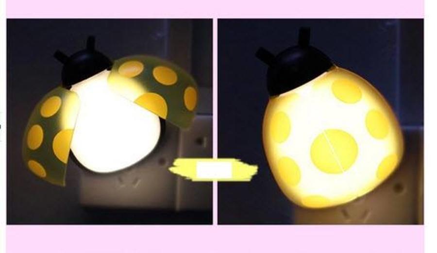 Đèn ngủ cánh cam đủ màu (có màu vàng, hồng, xanh)