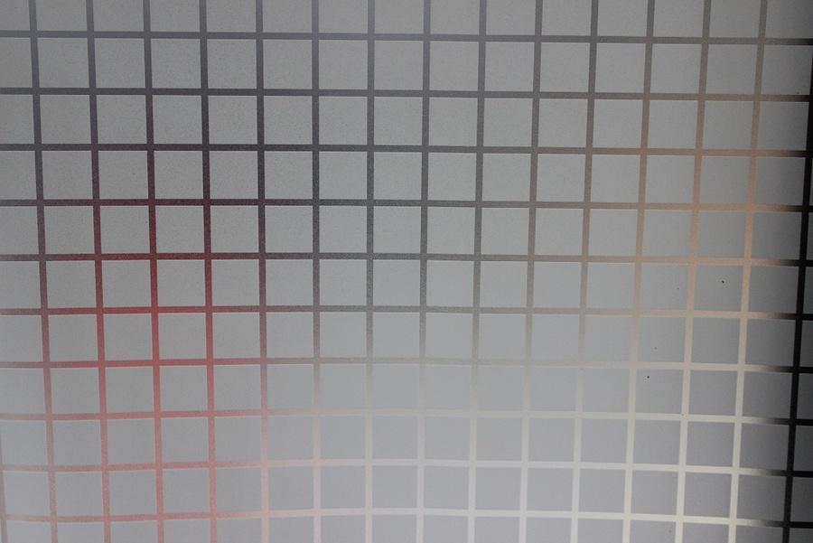 Decal cuộn kính mờ họa tiết vuông trắng  Octki