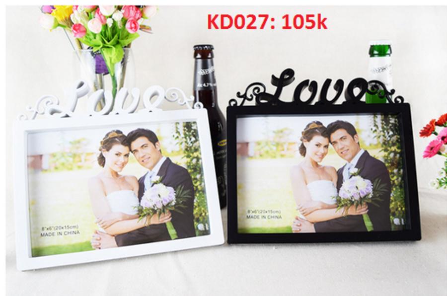 Bộ khung ảnh gia đình KD027