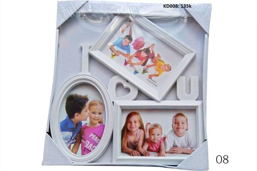 Bộ khung ảnh gia đình KD008