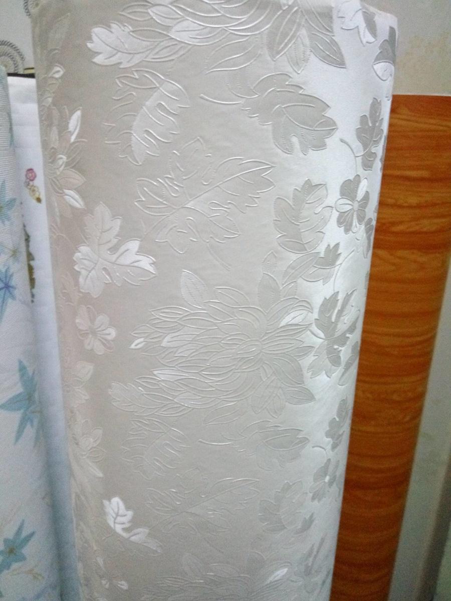 Giấy Decal cuộn họa tiết hoa vân trắng 2 khổ 1.2m (851)
