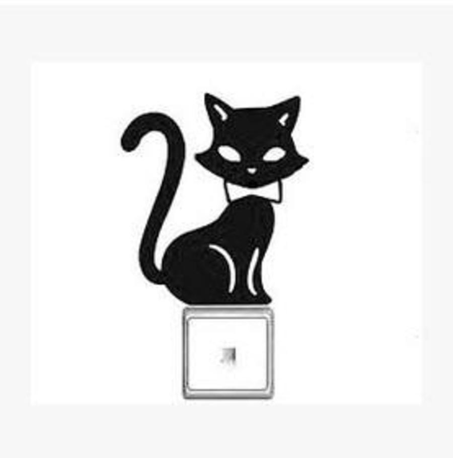 Ổ điện mèo đen 2