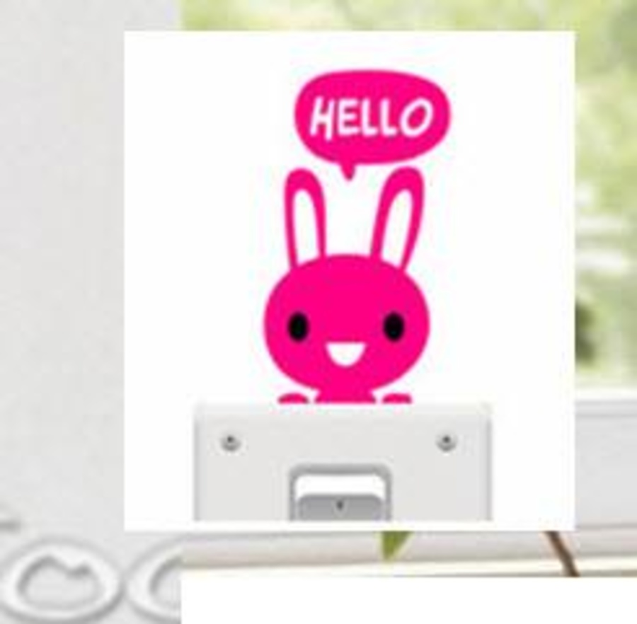Ổ điện thỏ hồng