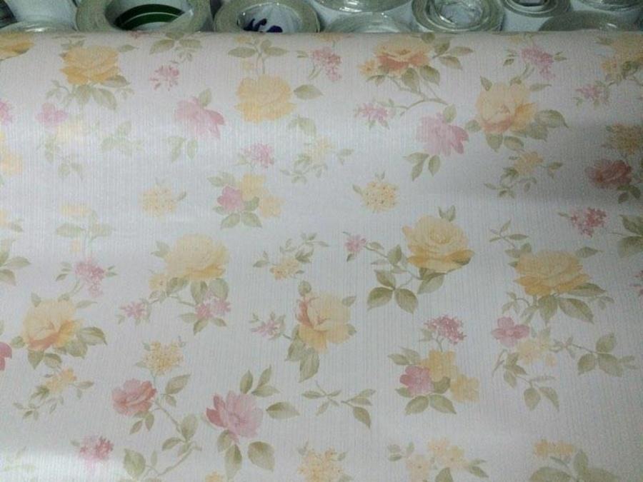 Giấy Decal cuộn hoa mùa xuân khổ 0.9m