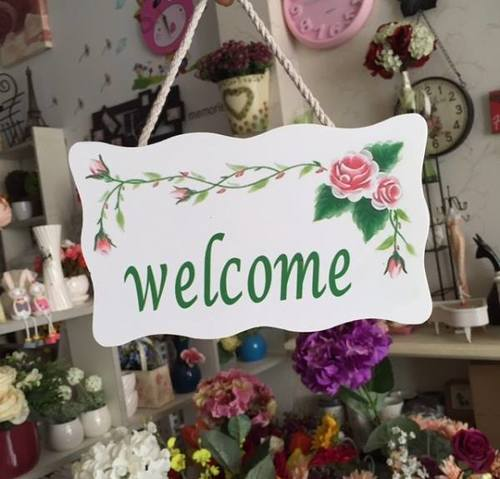 Bảng treo welcome nhỏ số 1