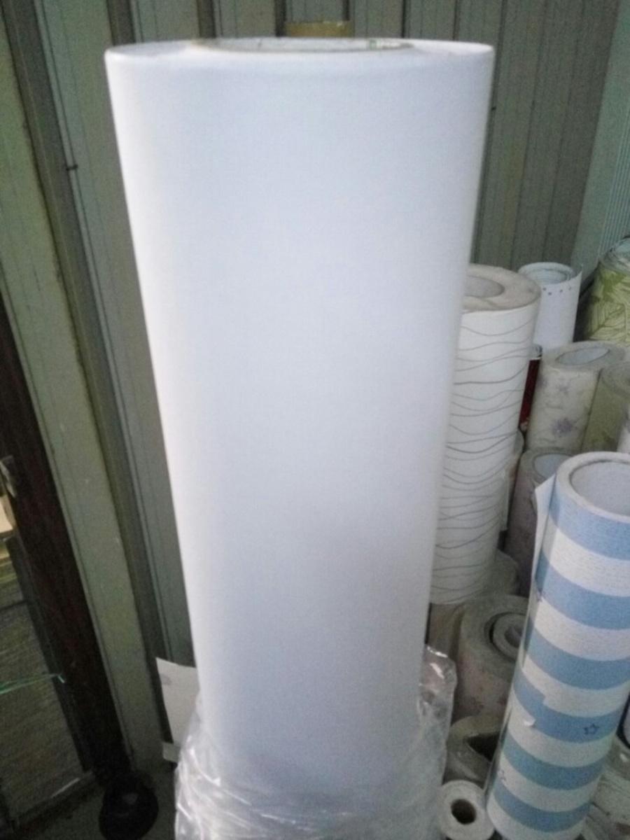Giấy decal cuộn họa tiết màu trắng trơn khổ 1m2
