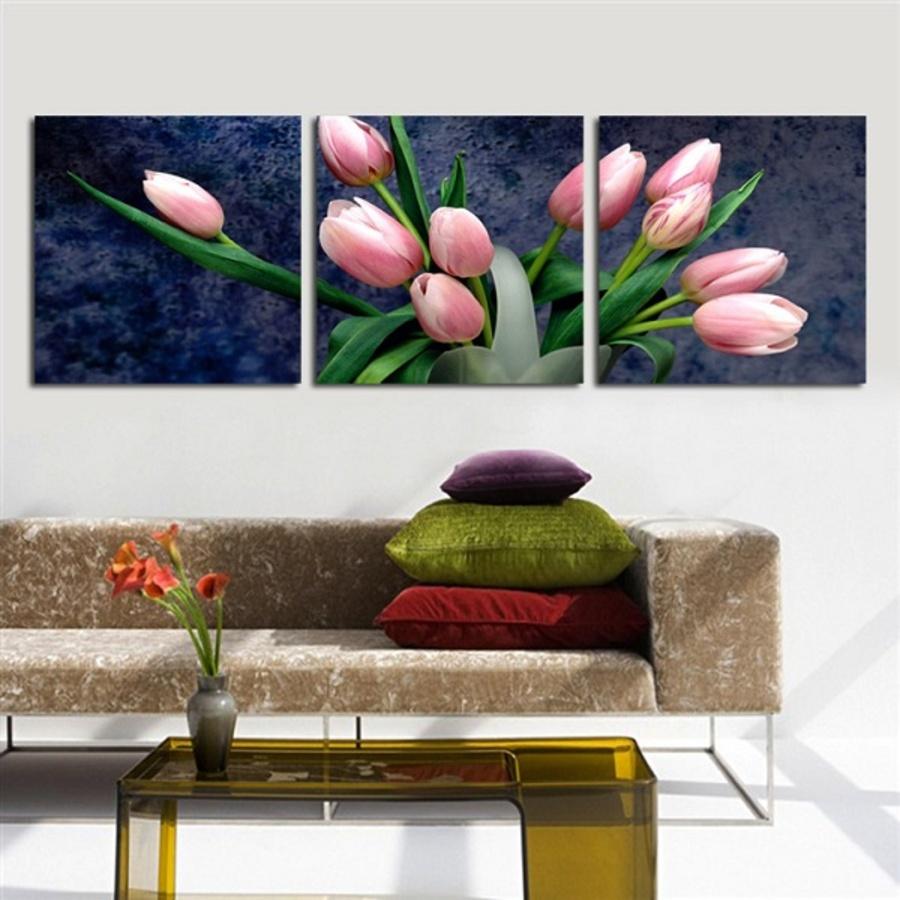 Tranh treo tường hoa tulip 2