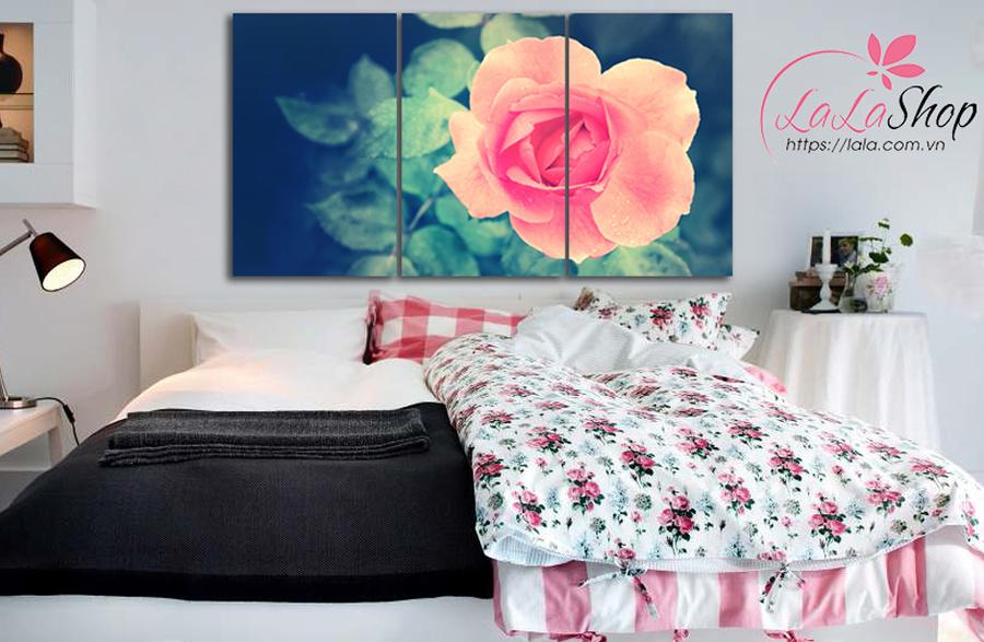 Tranh treo tường hoa hồng nhung