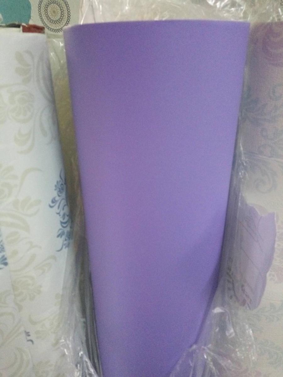 Giấy decal cuộn màu tím trơn khổ 1m2