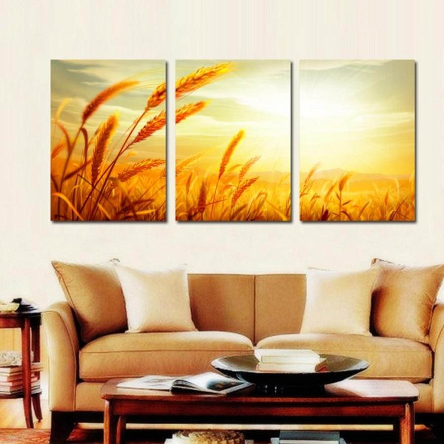 Tranh treo tường mùa thu vàng