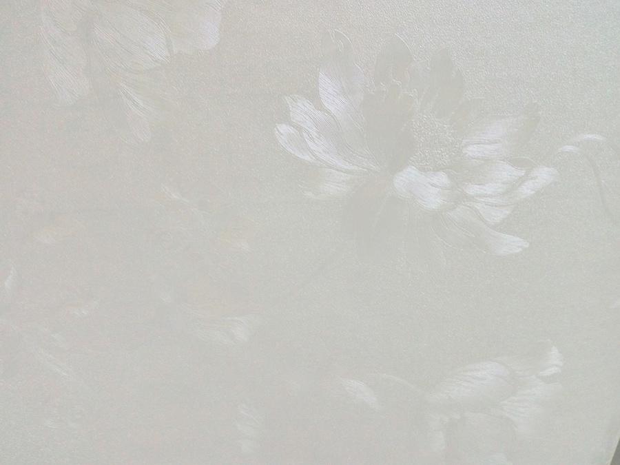 Giấy decal cuộn dây leo hoa hồng trắng(277)
