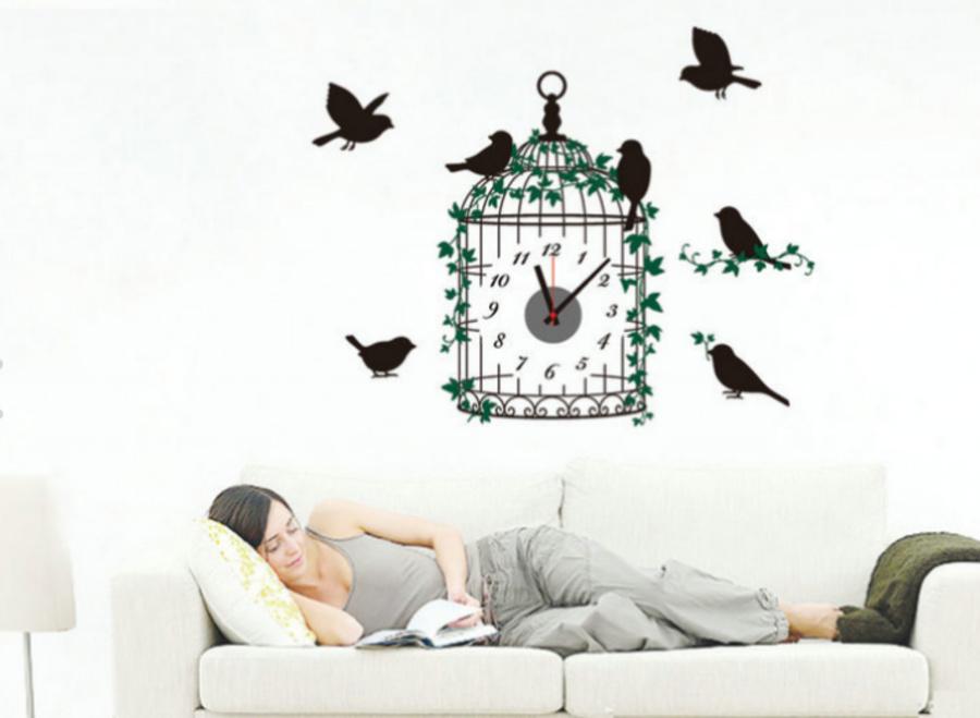 Đồng hồ lồng chim 1