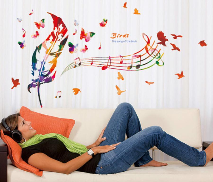 Lông vũ và âm nhạc