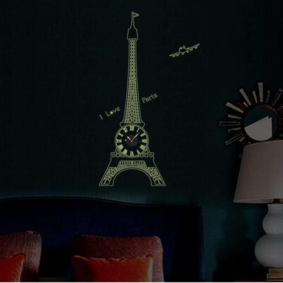 Đồng hồ tháp Pari dạ quang