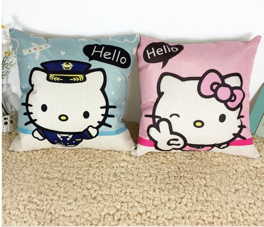 Vỏ gối hello kitty