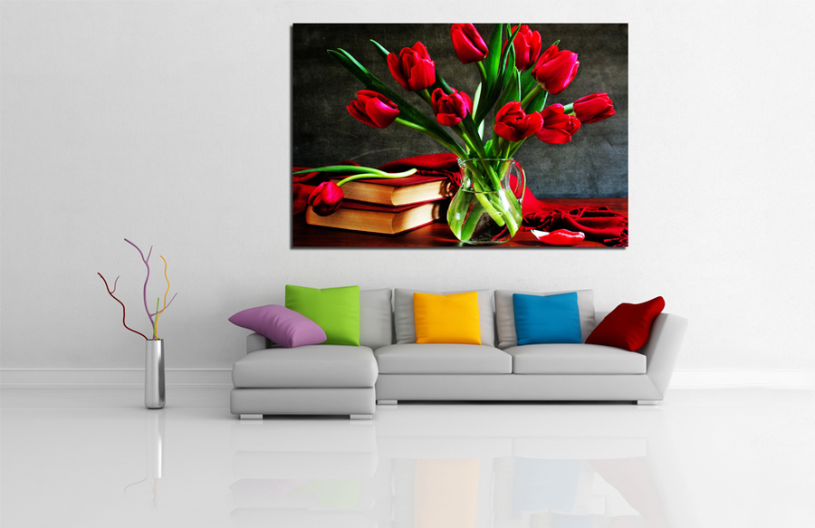 Tranh treo tường lọ hoa nghệ thuật
