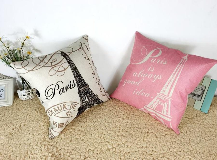 Vỏ gối tháp Paris