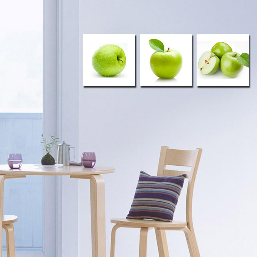Tranh treo tường táo xanh