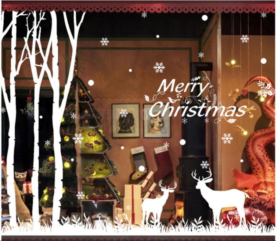 Merry Christmas & đôi tuần lộc Noel
