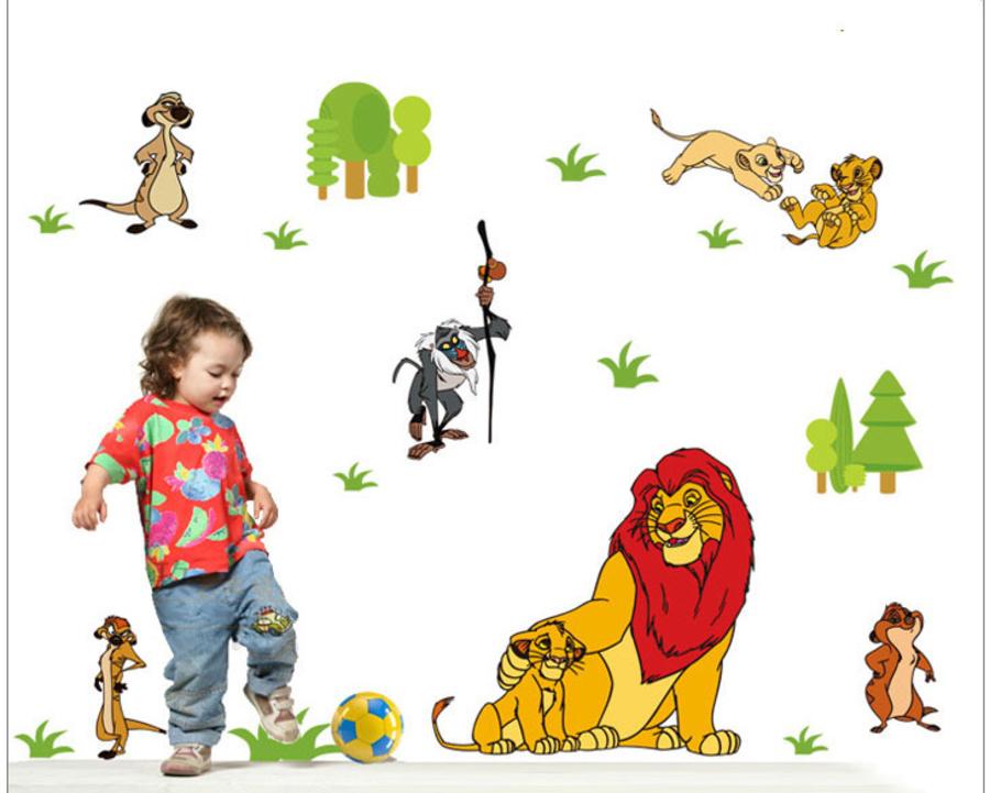 Decal vua sư tử