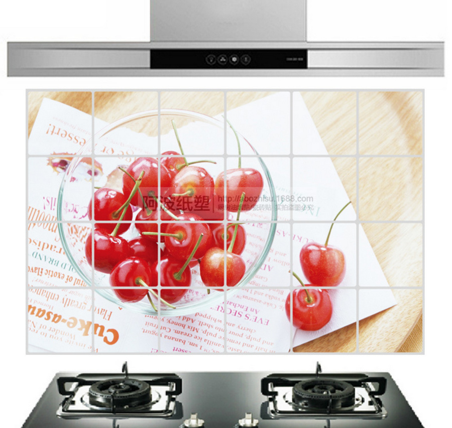 Dán bếp cherry size 60x90cm