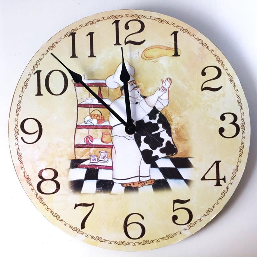 Đồng hồ vintage đầu bếp