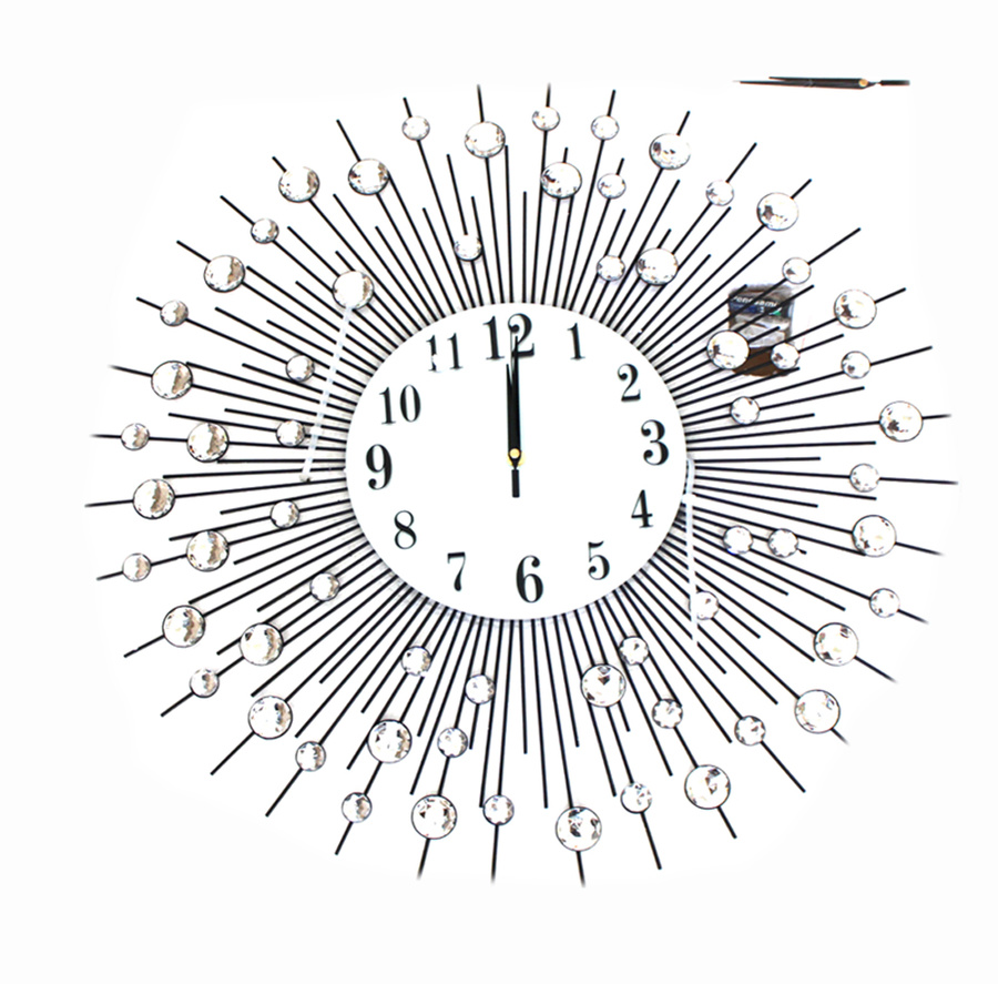 Đồng hồ treo tường tia nắng mặt trời