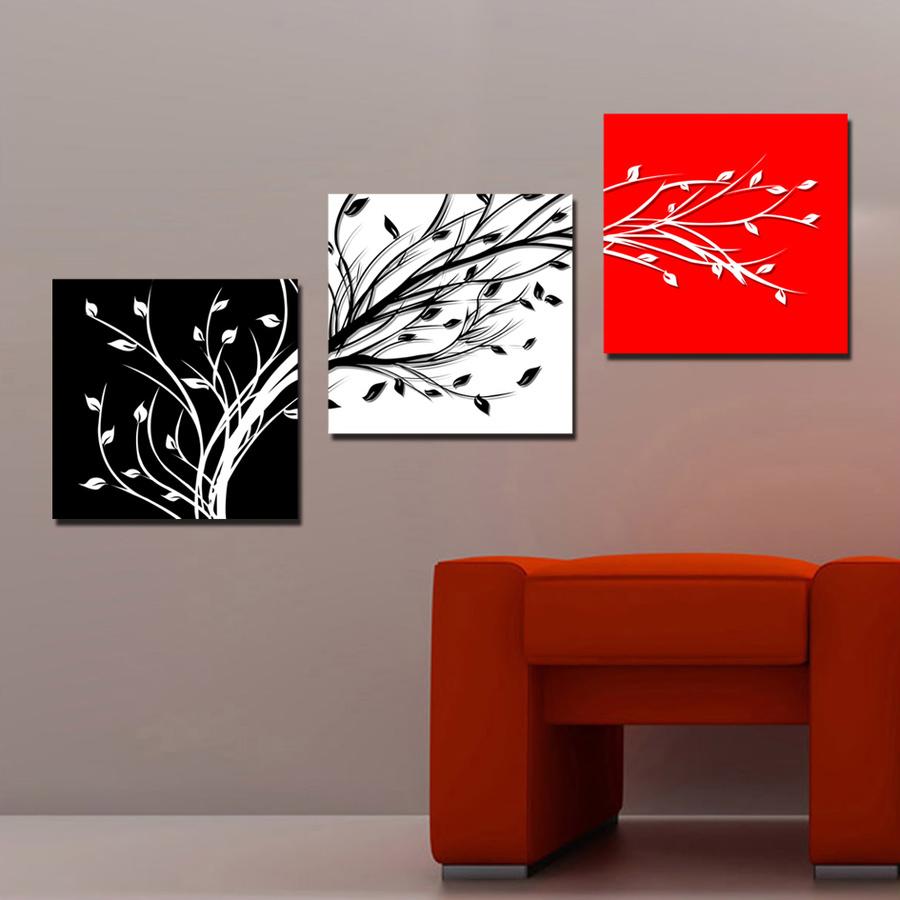 Tranh treo tường nghệ thuật cây 3 màu 02 (TM)