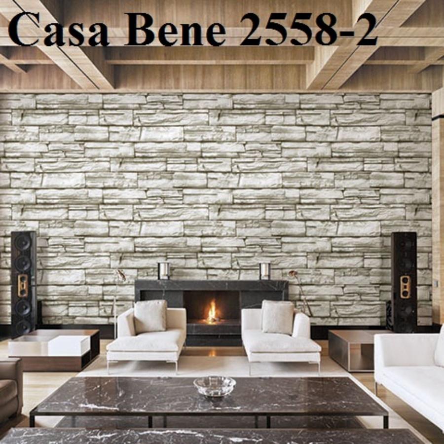 Giấy dán tường giả đá xám CB 2558-2