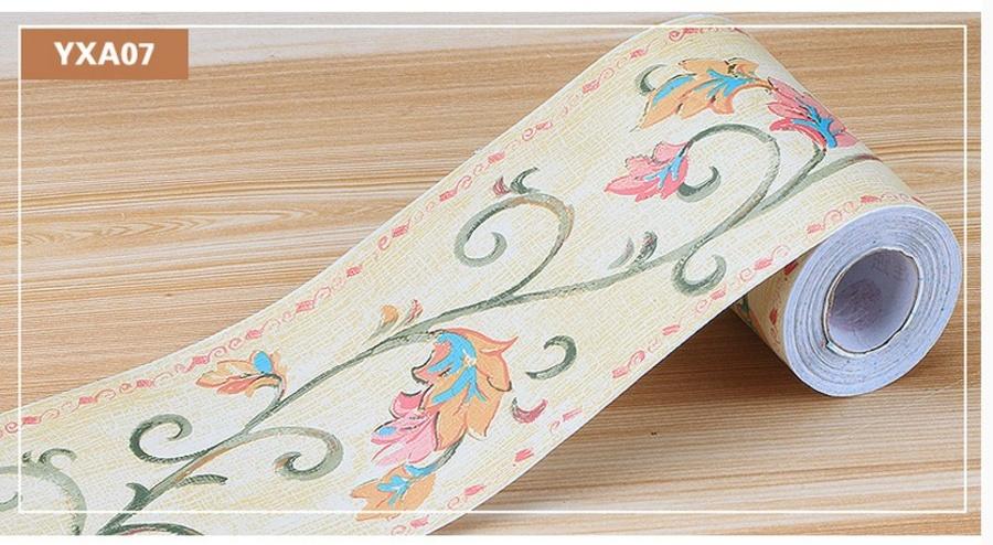 Decal cuộn len chân tường YXA07