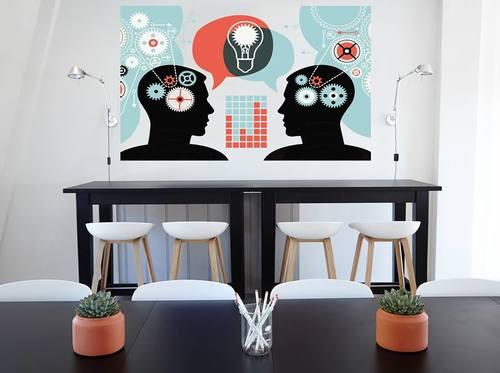 Decal văn phòng khơi nguồn ý tưởng
