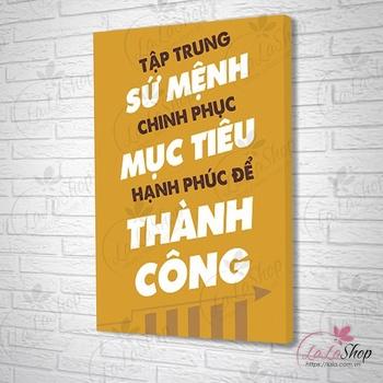 Tranh Treo Văn Phòng
