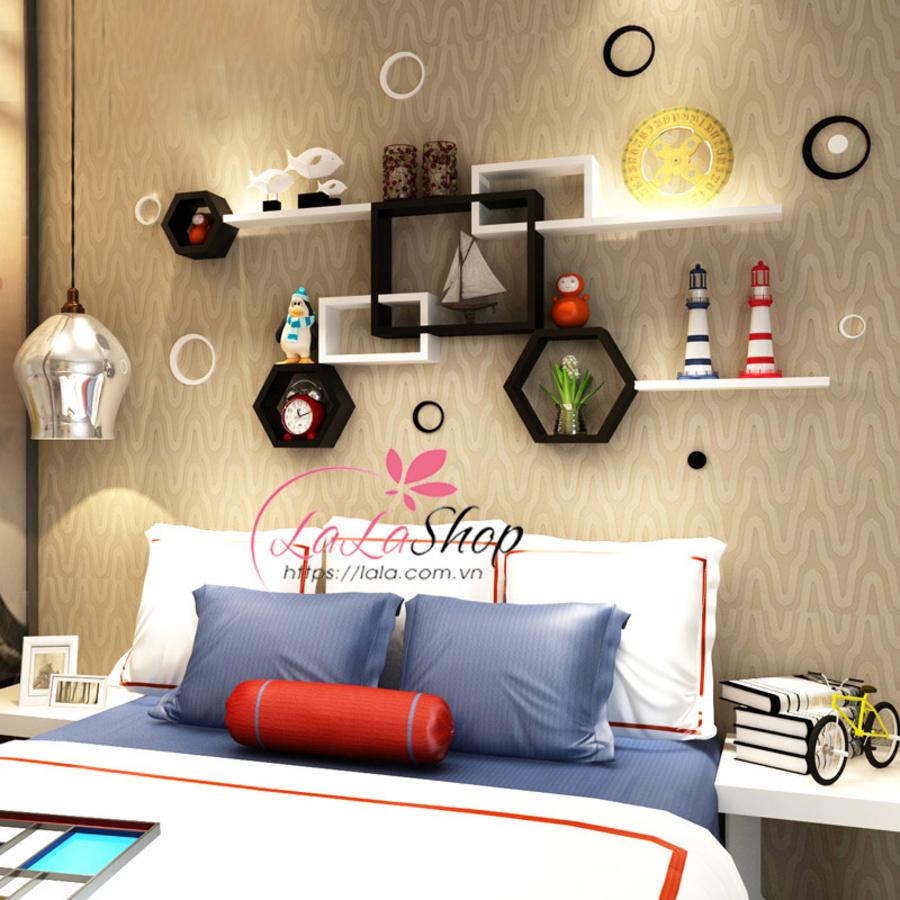 Kệ trang trí phòng ngủ TTPN06