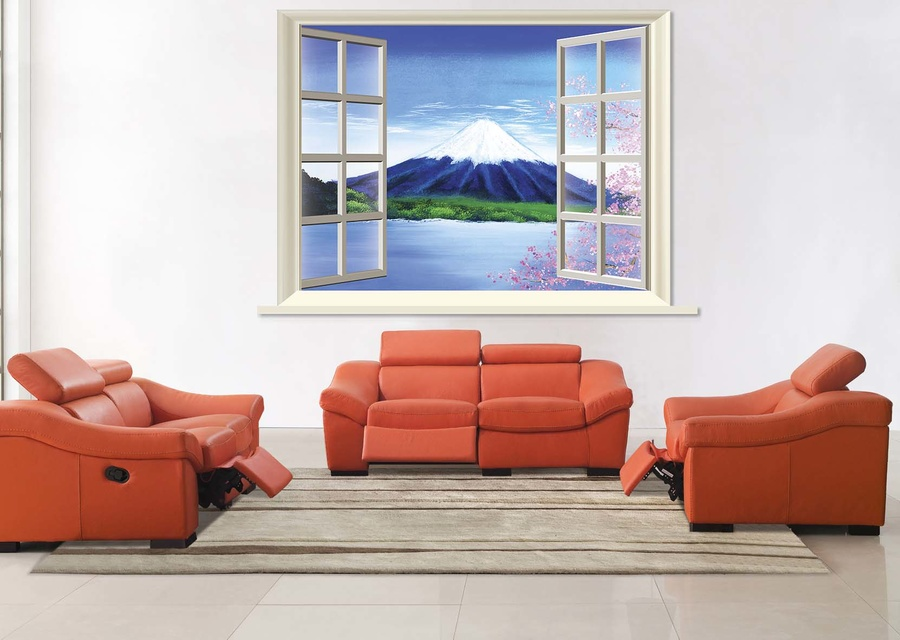 Tranh cửa sổ núi phú sĩ 4