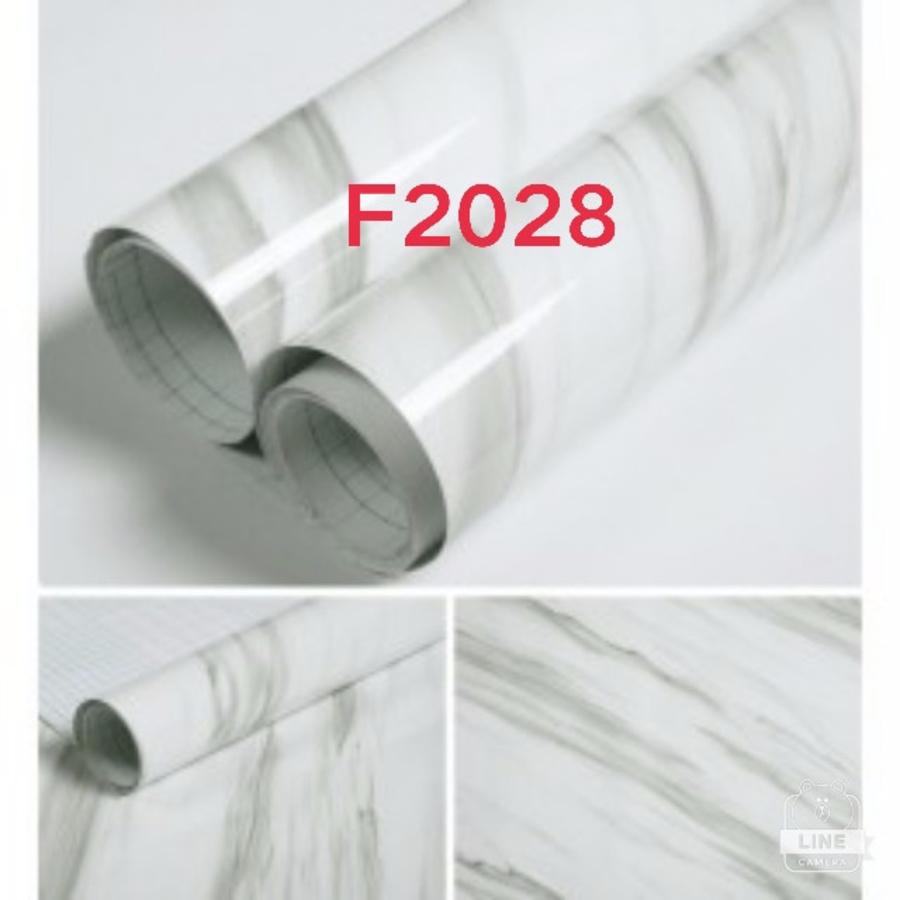 Giấy decal cuộn giả đá vân trắng 2 khổ 1m2