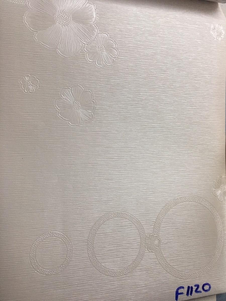Giấy decal cuộn hoa mai trắng khổ 1m2