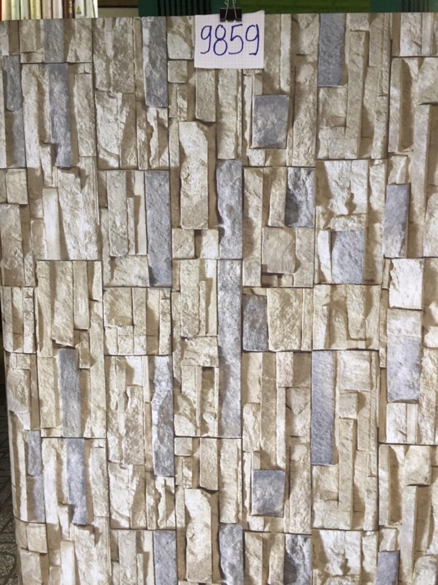 Giấy decal cuộn giả đá xám 8