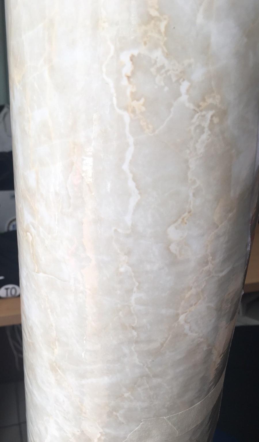 Giấy decal cuộn giả đá vân trắng khổ 1m2