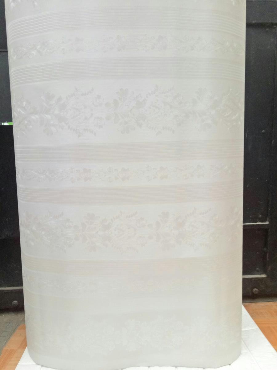 Giấy decal cuộn dây leo hoa trắng khổ 1m2