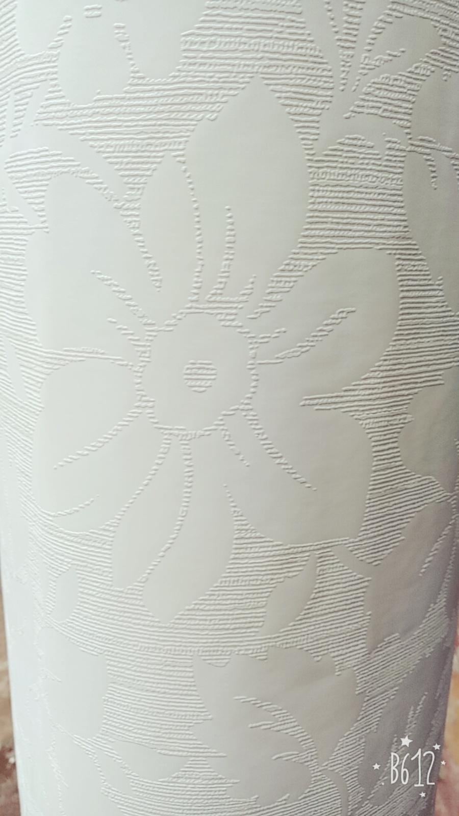Giấy decal cuộn hoa trắng khổ 1m2